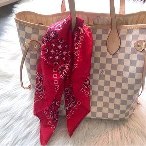 Set of 3 cotton handkerchief/ scarf 🧣
